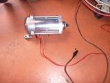 レーサーエンジン用セルモーター組立て (9)