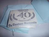 CPオリジナルCB400Four 40周年記念ステッカー