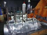 500cc化エンジン組立て準備