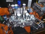 京都H号エンジン組立て (4)