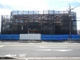 7月15日CP前空き地建設工事ALC外壁工事 (1)