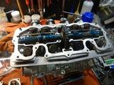 CB400国内398ccCP25号機用エンジン仕上げ (2)