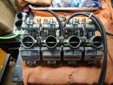 不動CB400 A様エンジン、キャブチェック (6)