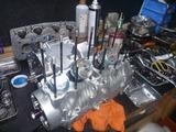1号レーサーエンジン組立て (5)