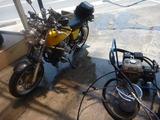 1号機お店で洗車 (1)