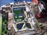 まっきーレーサー号エンジンロアケースブラスト (1)