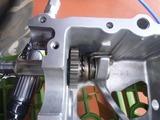500cc化計画キックギヤーケース加工