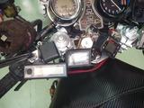 油圧、空気圧計、ETCアンテナ取付け