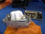 サイドスタンド修理依頼車両エンジン取外し準備完了 (3)