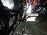 23号機リアブレーキマスター取付け変更 (2)