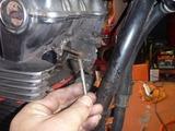 CB900Fスタッド折れ除去と整備 (9)