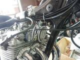 CB400F国内708cc高槻S様手裏剣カバーホーン取り付け (1)