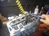 まっきーレーサー号用エンジン完成からの搭載 (1)