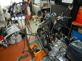 CB400F中古車両キャブレター調整エンジン始動チェック210904 (4)