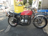 京都様CB400油温計と速度警告灯取付210829 (1)