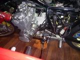 408エンジン搭載完了