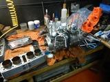 千葉H号用エンジン組立て腰上下拵え190705 (4)