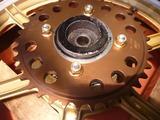 500cc化車両ドリブンスプロケット交換 (3)