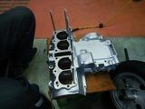 20号機CB400F国内408エンジンスタッドボルト取付
