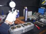 嵐のヨンフォアエンジン測定&チェック (3)