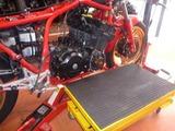 CB1100R エンジン取外し (4)