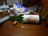 柏原産赤ワインと対戦&退治 (2)