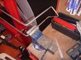 サーキット用ヘルメットホルダー製作 (2)