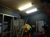 CP店舗天井改装工事第一段階完了 (1)
