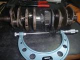 ゲキカラ号398クランクメタル計測
