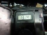 半袖一家Y様CB400F発電、充電チェック (7)