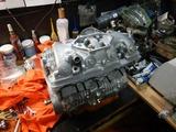 13号機用エンジン組立て完了 (3)