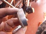 フロントブレーキ洗浄 (2)