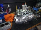 5年熟成398エンジン腰上組立て (1)