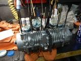 まっきーRエンジン腰上組立 (2)