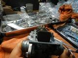 CB400国内398cc25号機用キャブレター組み立て (7)