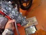 500cc化車両点検仕上げ (1)