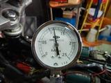 CB400F半袖一家Y様マフラー取付エンジン始動調整 (3)