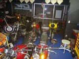 今日のCP店内バイク15台