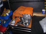 エンジン部品保管スペース確保 (4)