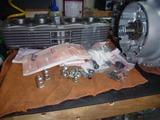 レーサーエンジン腰上組立て (1)