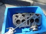 ノスタルジック398エンジン洗浄