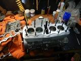 まっきーRエンジン腰上組立 (4)