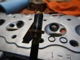 20号機用エンジン部品交換と測定 (2)