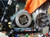 CB400国内398ccCP25号機エンジン搭載210607 (7)