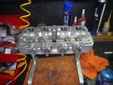 5年熟成398エンジン腰上組立て (3)
