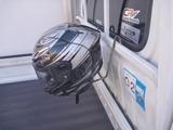 サーキット用ヘルメットホルダー製作 (8)