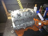 まっきーレーサー号用エンジン完成からの搭載 (2)
