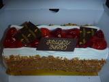 Bケーキ頂きました