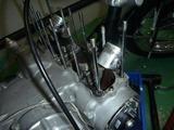 2号機オイル漏れ修理 (1)