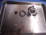 CB750FB ACコイルとオイル漏れ (4)